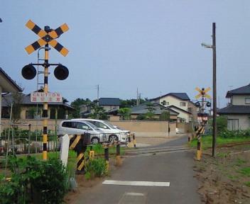 阿字ヶ浦駅付近