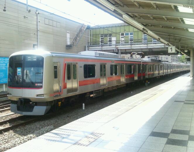 東急4106F<br />  試運転