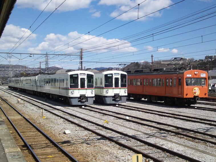秩父鉄道1003F<br />  さよなら運転