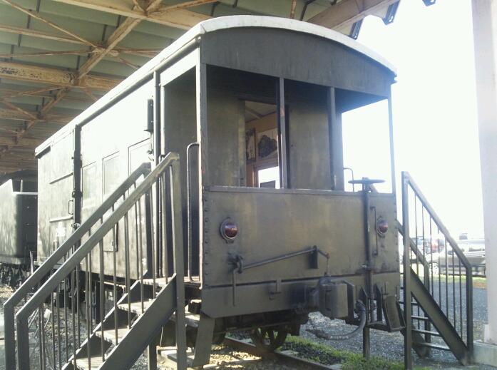 北上展勝地の保存車両