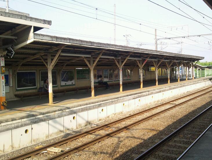 青梅線東中神駅