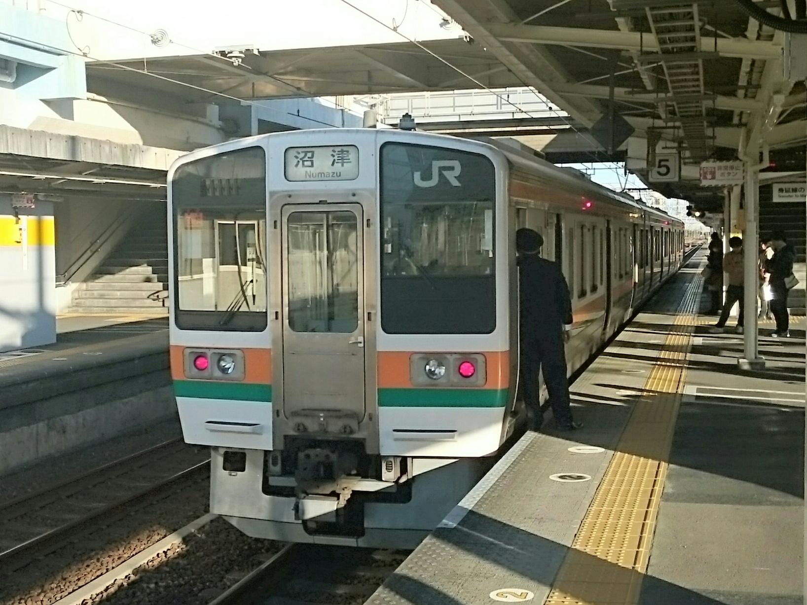 富士駅折り返し