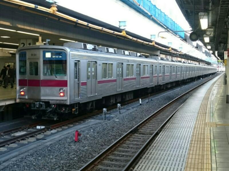 東武東上線9101F