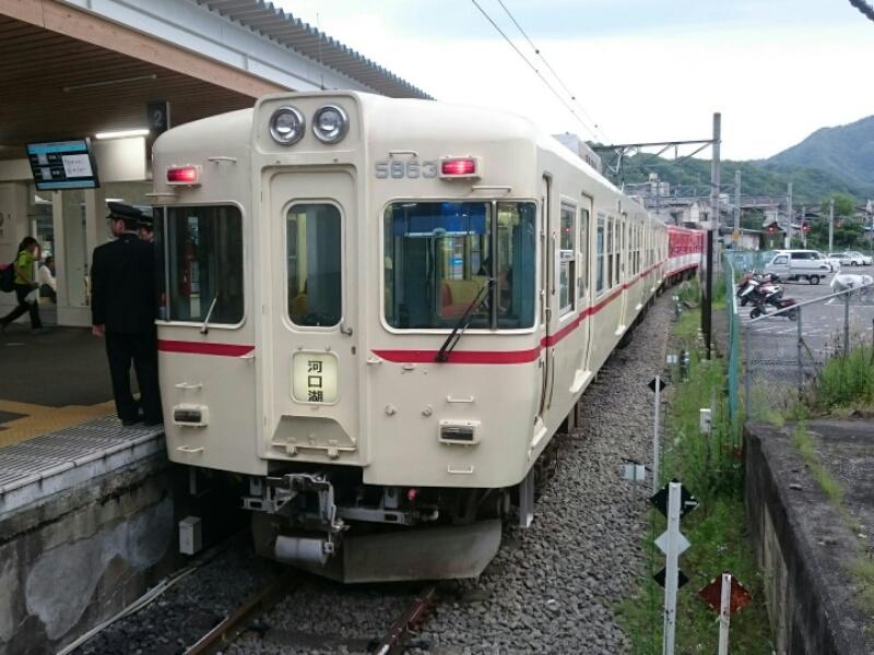 ちょっとだけ富士急線へ