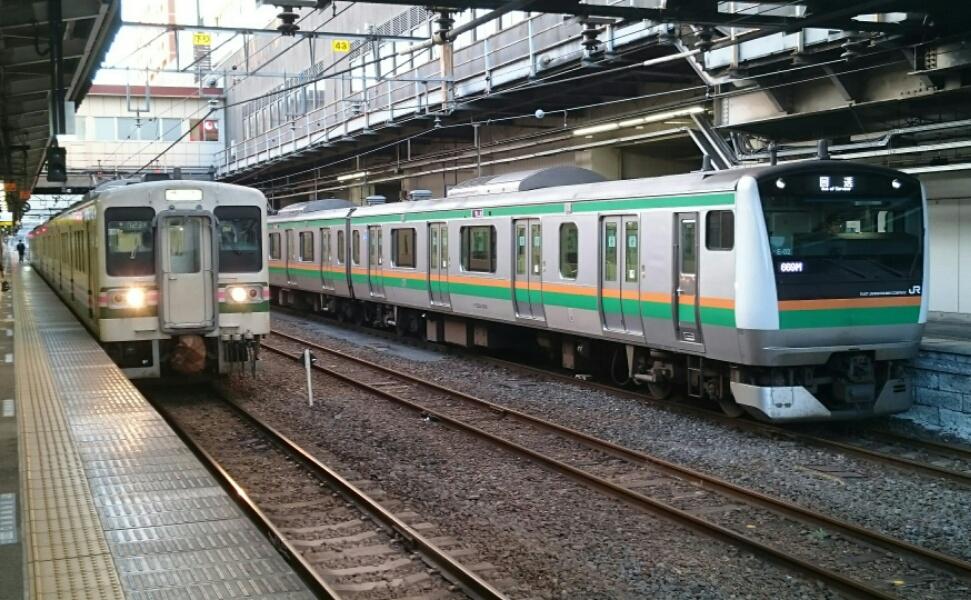 高崎駅1番線