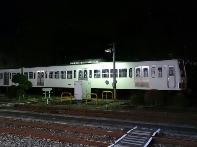 西武多摩川線  101系241Fが甲種輸送の準備中