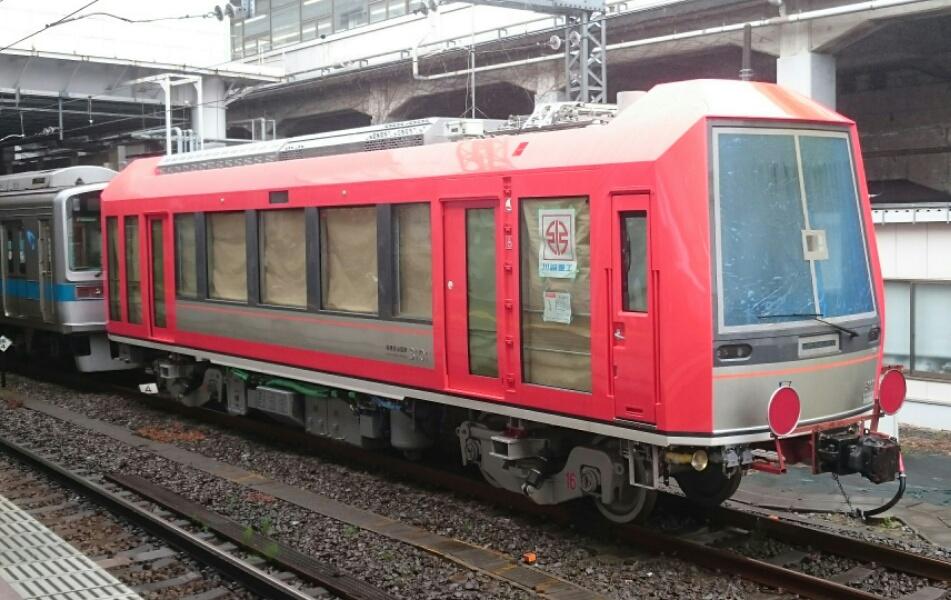 箱根登山鉄道の新型車両