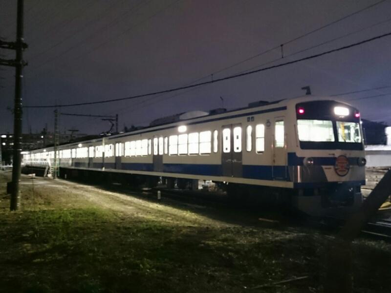 西武多摩川線101系249Fが伊豆箱根鉄道カラーに